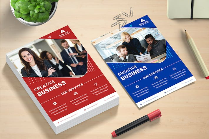 Thumbnail for Creative Business Flyer Template
