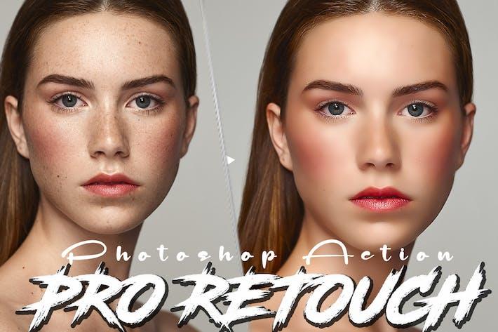 Professional Skin Retouching Photoshop Action