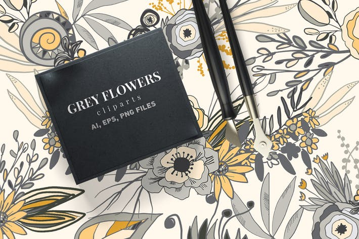 Thumbnail for Grey Flowers