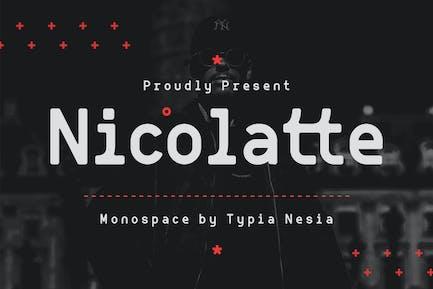 Nicolatte - Monospace Font