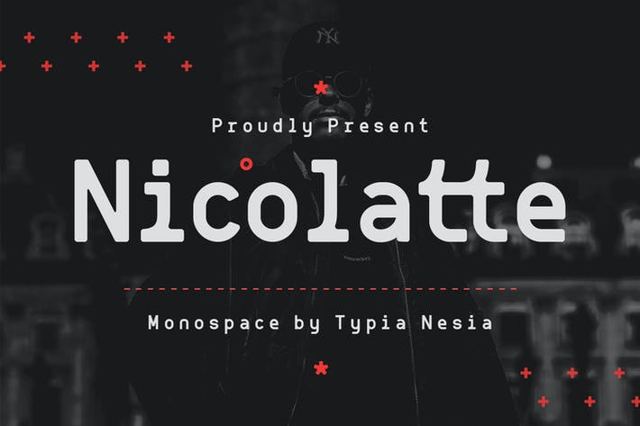 Thumbnail for Nicolatte - Monospace Font