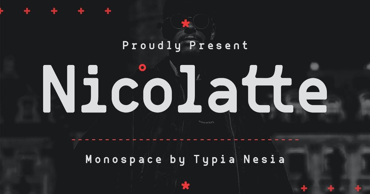 Download Nicolatte - Monospace Font by yipianesia
