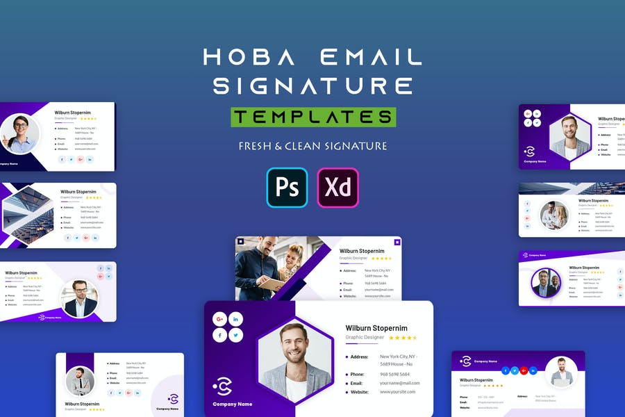Hoba | Email Signature Template