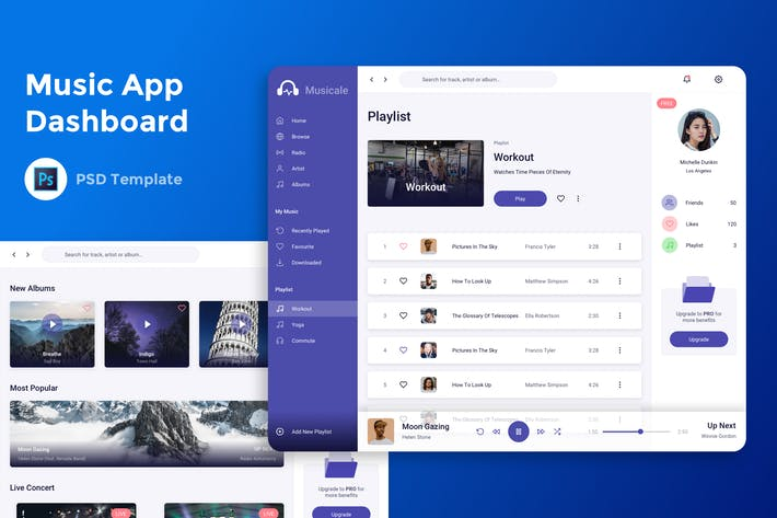 Thumbnail for Music Admin Dashboard