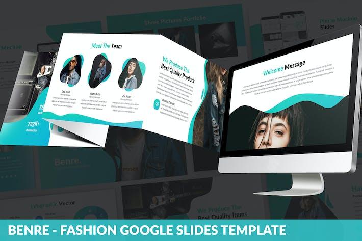 Thumbnail for Benre - Fashion Google Slides Template
