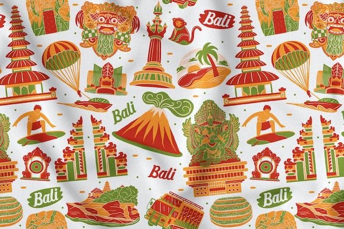 Thumbnail for Bali Nahtloses Patten