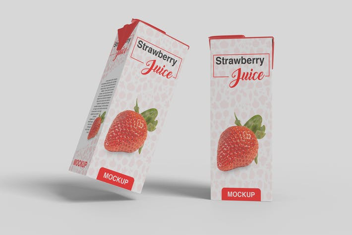 Thumbnail for Juice Box Mockup