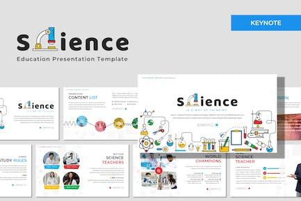 Science - Education Keynote Plantilla