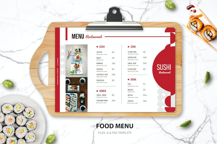 Thumbnail for Sushi Oriental Food Menu