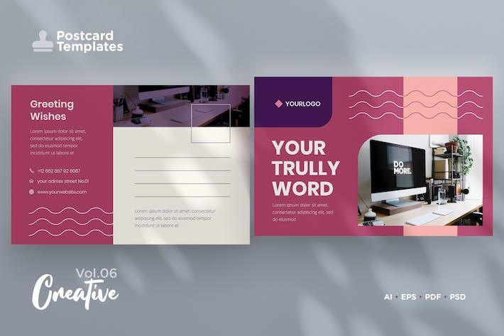 Thumbnail for Postcard Template Vol.06 Creative