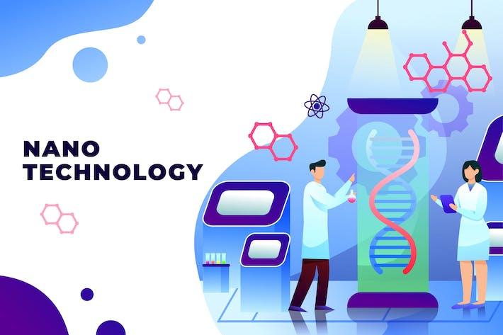 Nano Technology - Illustration Vecteur