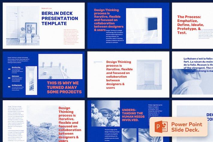 Thumbnail for Берлин - Шаблон презентации Power Point
