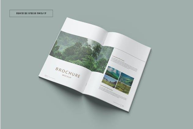 Brochure Spread Mockup