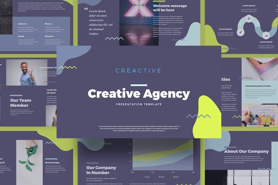 Creactive - Creative Agency Presentation Template