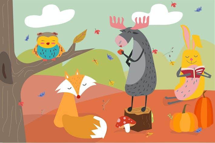 Thumbnail for Herbst-Illustration