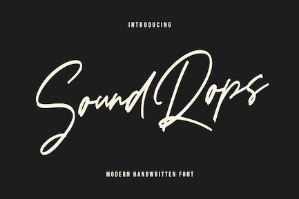 Soundrops Font