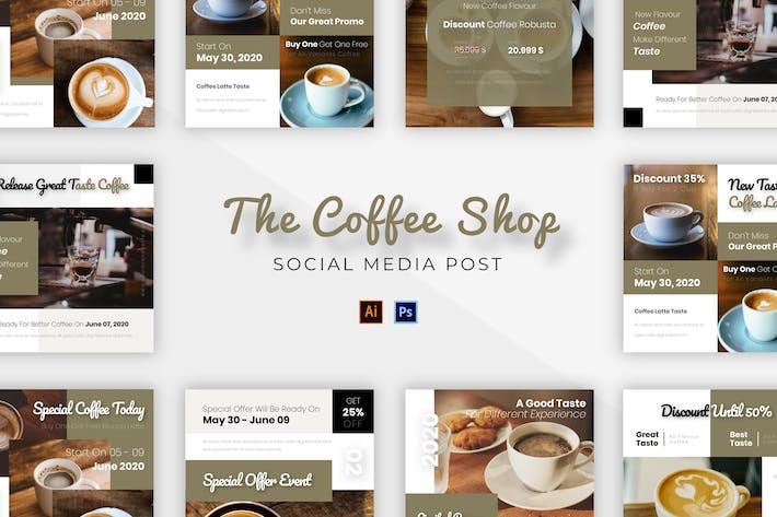 Kaffee Socmed Post
