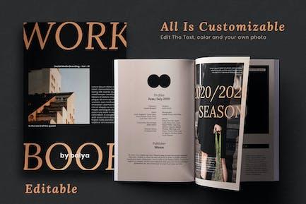 Workbook vol 1 - Magazine Template