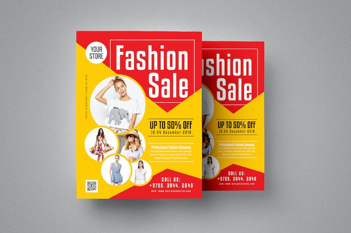 Cover Image For Fashion Product Sale Flyer