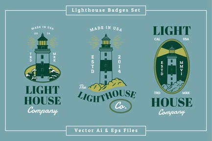 Lighthouse Badges