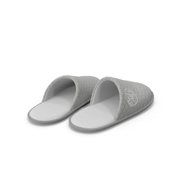 House Slippers Grey