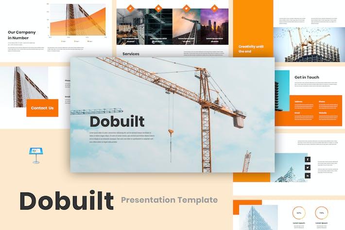 Thumbnail for Dobuilt - Construction Keynote Template