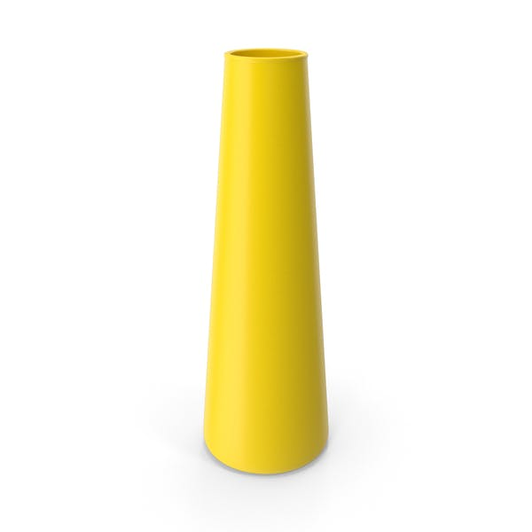 Трубка Ваза Желтый