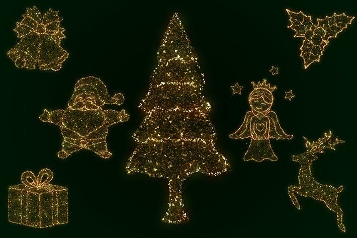 Thumbnail for Glittering Christmas Elements