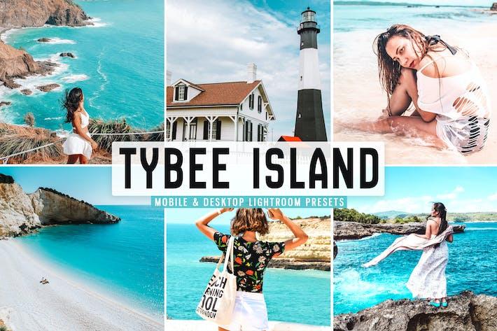 Thumbnail for Tybee Island Mobile & Desktop Lightroom Presets