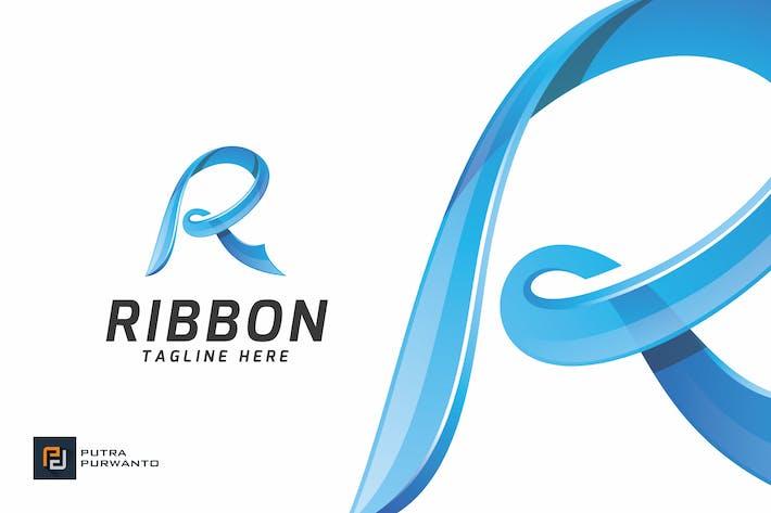 Thumbnail for Ribbon / Letter R - Logo Template