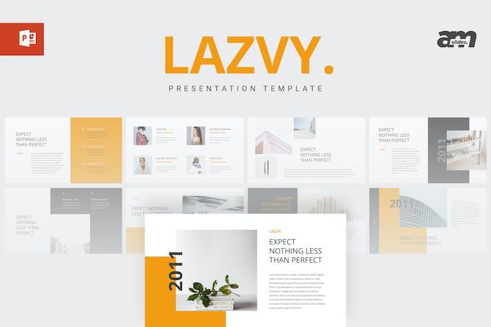 Thumbnail for Lazvy - Modèle Powerpoint