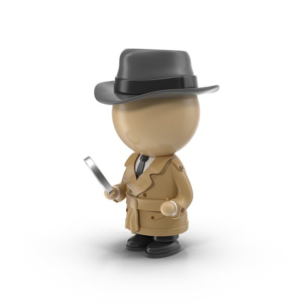 Karikatur-Detektiv