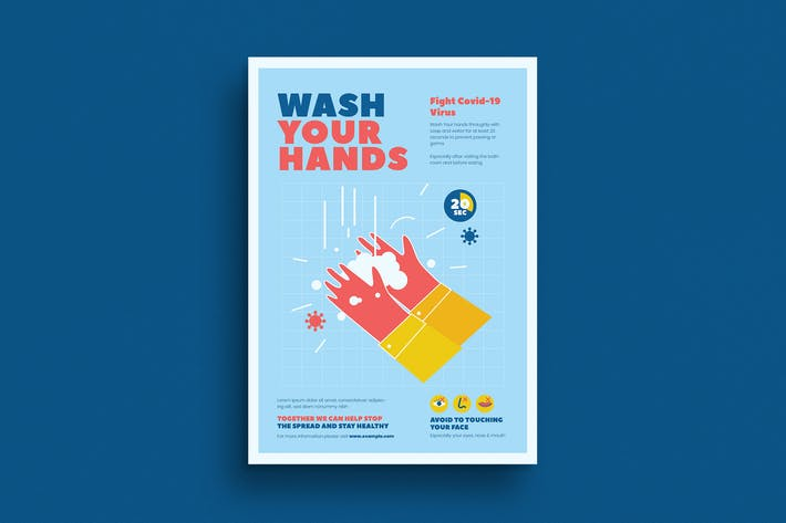 Washing Hand Campaign Poster
