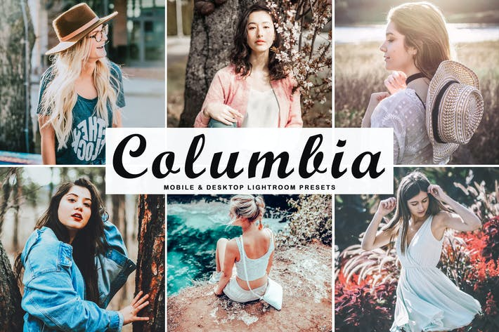 Thumbnail for Columbia Mobile & Desktop Lightroom Presets