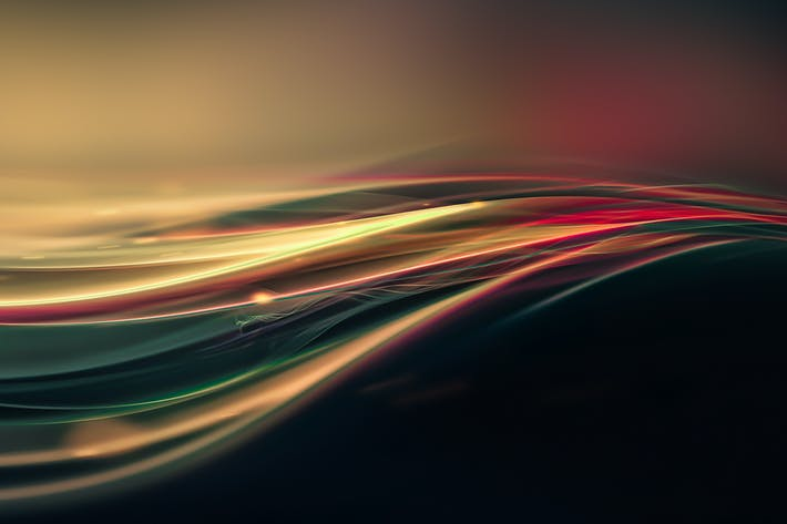 Thumbnail for светящиеся волнистые линии