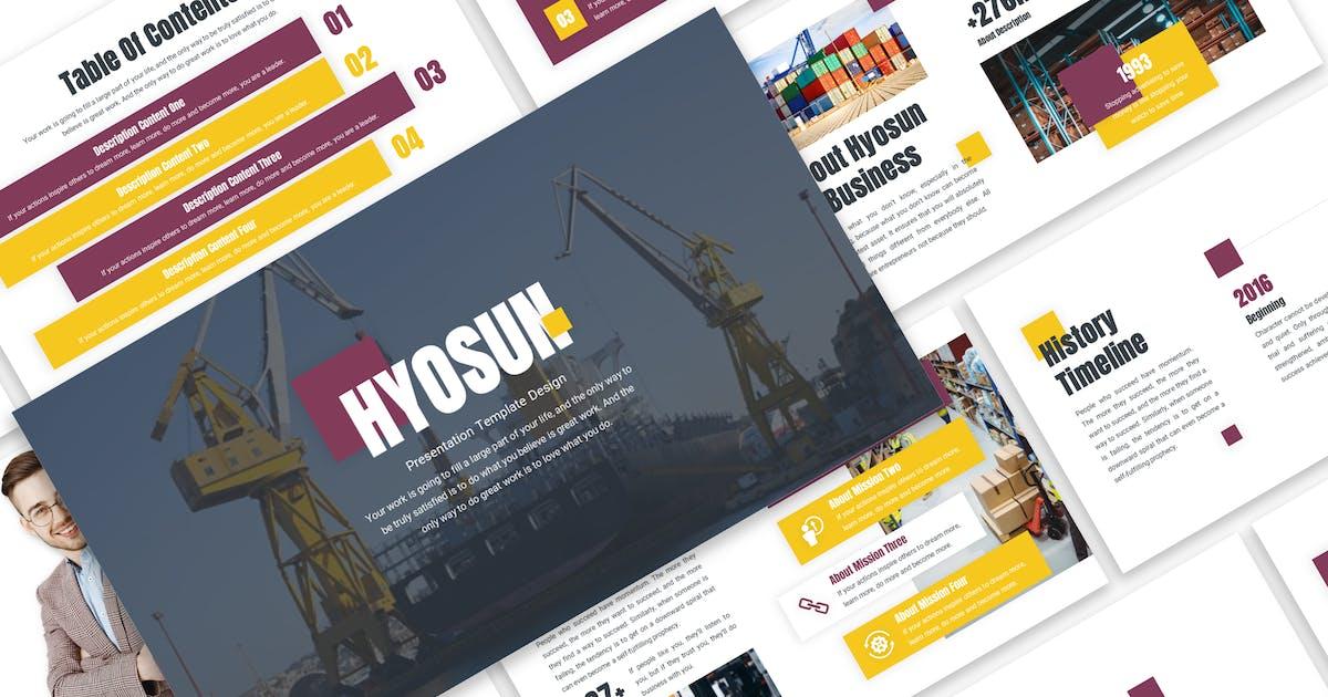 Hyosun - Logistic Template Prensentation by Blesstudio