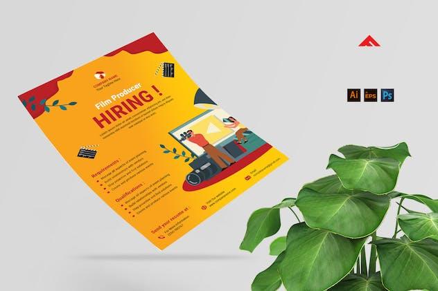 Film Company Job Hiring Advertisement