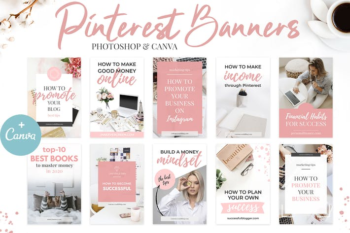 Thumbnail for Successful Pinterest Templates V.1