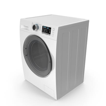 Front Load Washing Machine White