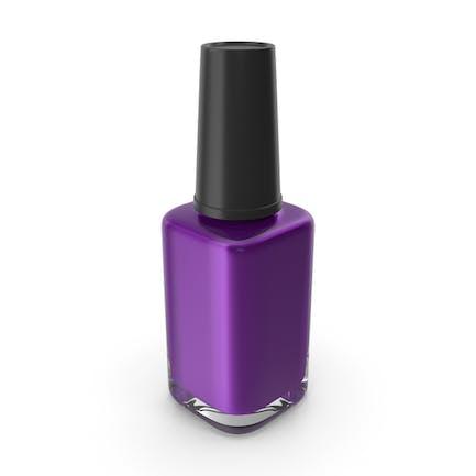 Polish Fingernail Purple