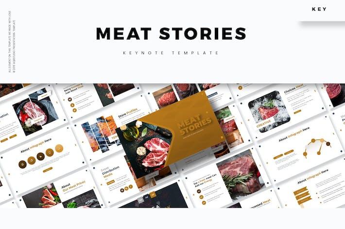 Thumbnail for Истории мяса - Шаблон Keynote