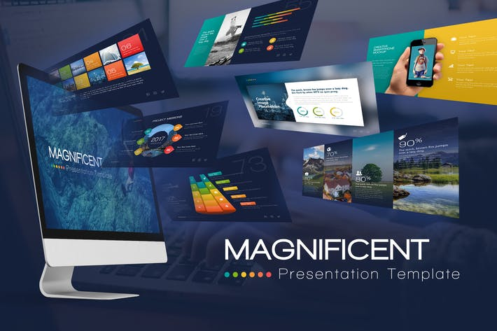 Cover Image For Magnificent Presentation Template