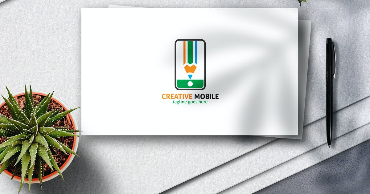 Download Creative Mobile Logo by Voltury