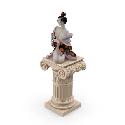Geisha-Statue