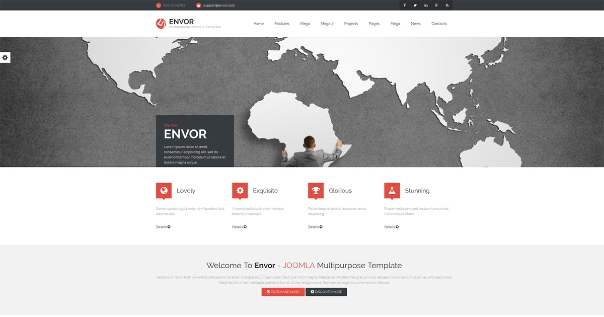 Download Envor — Fully Multipurpose Joomla Template by cththemes