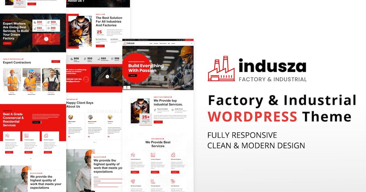 Download Indusza - Industrial & Factory WordPress by shtheme
