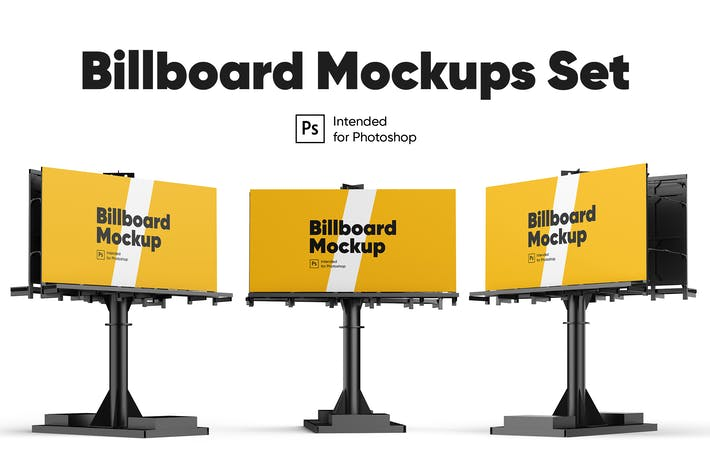 Thumbnail for Billboard Mock-ups Set
