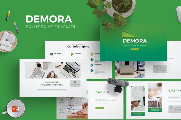 Demora - Powerpoint Template