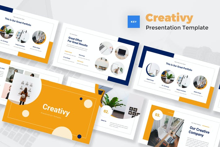 Thumbnail for Creative Style Keynote Template