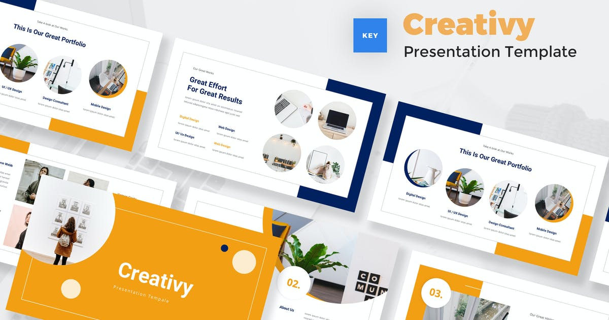 Download Creative Style Keynote Template by StringLabs